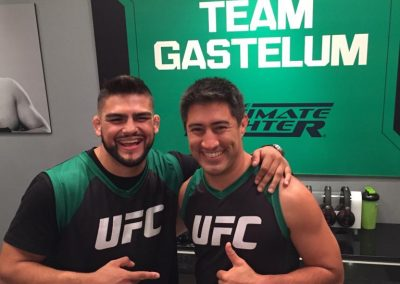 Team Gastellum en The Ultimate Fighter